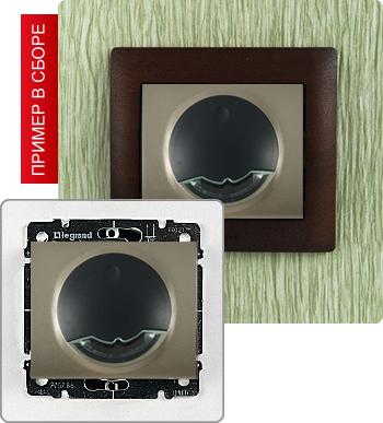 Цифровой термостат со встроенным датчиком для управления нагрузками до 8А.  Подключение выносного датчика (для теплых...